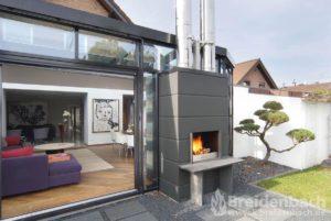 Breidenbach Kamine Projekt Aussenkamin 004 02