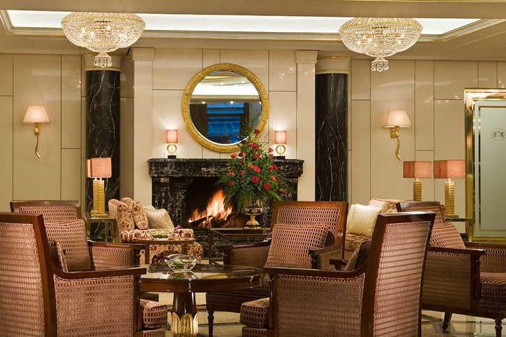 Breidenbach Kamine Hotelerie Gastronomie BreidenbacherHof Downstairs Lobby Seating