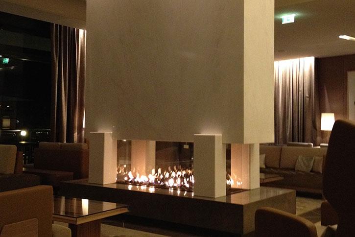 Breidenbach Kamine Hotelerie Gastronomie Ritz Carlton Lobby